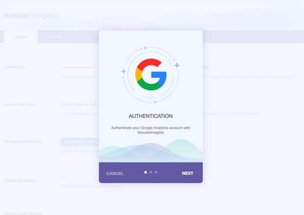 New Authentication Workflow