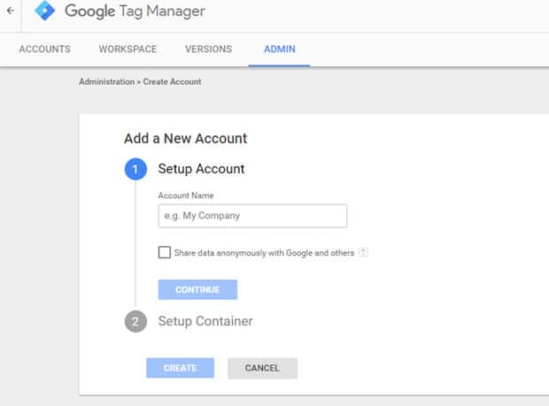 implement google tag manager with Google analytics
