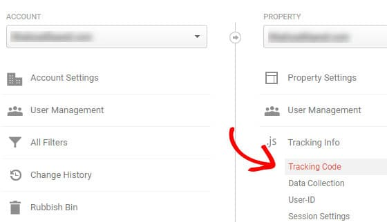 get google analytics tracking-code