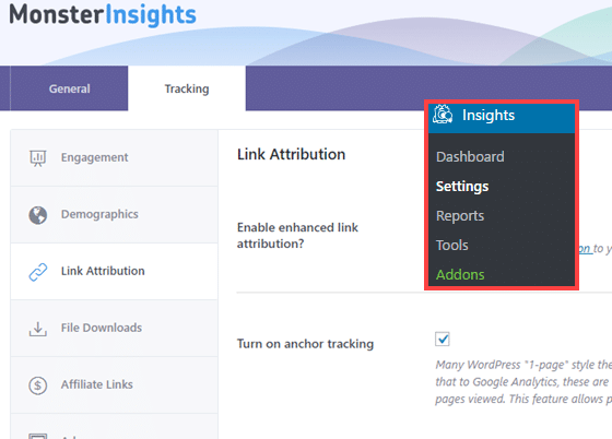 track anchor links with Google Analytics