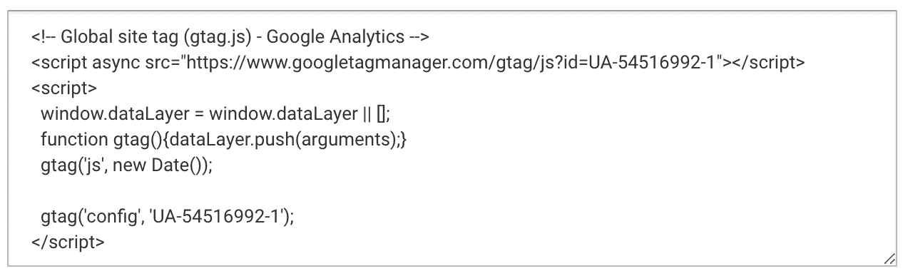 Google Analytics Code To Install on Your Site