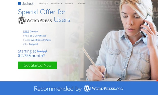 Bluehost Best WordPress Hosting