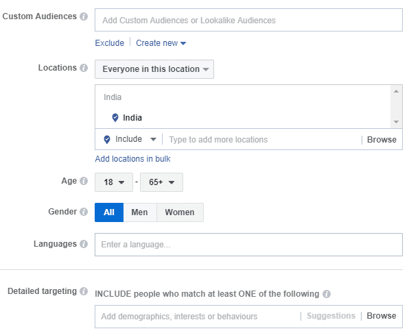 how to adjust facebook ad targeting with google analytics