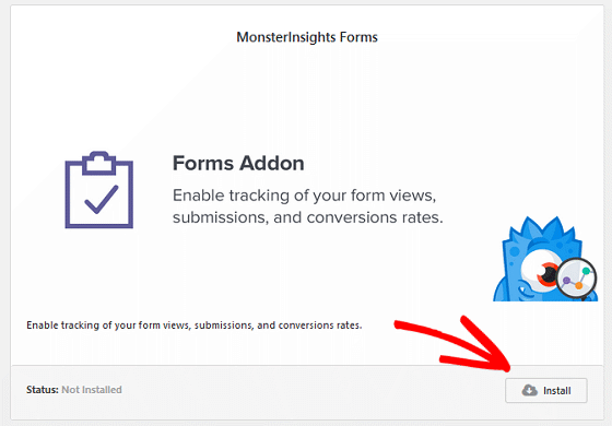 Bloom Conversion Tracking - MonsterInsights Forms Addon