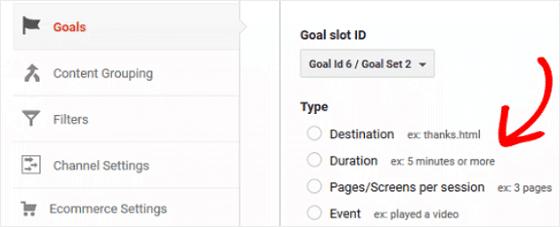 GA Goals