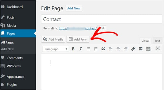 add-form-contact-page