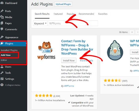 add-wpforms