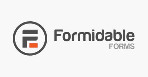 Formidable Forms Most Advanced WordPress Form Builder Plugin