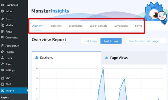 monsterinsights-reports