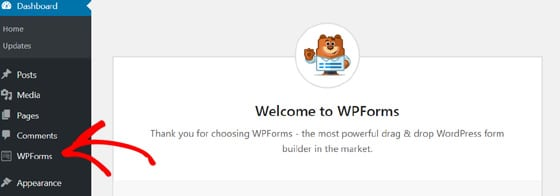 welcome-wpforms