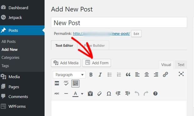 add-form-button-in-post-editor