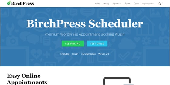 birchpress-wordpress-appointment-plugin