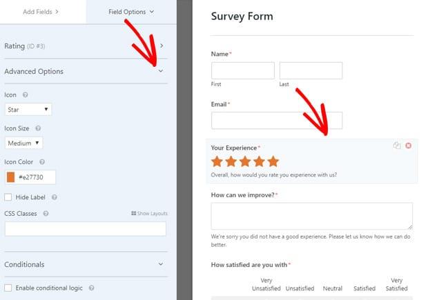 edit-rating-field-advanced-options-wordpress-survey