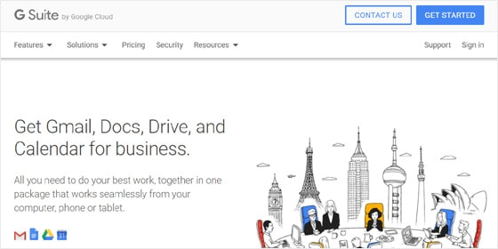G Suite Gmail for Business