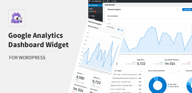 MonsterInsights Dashboard Widget