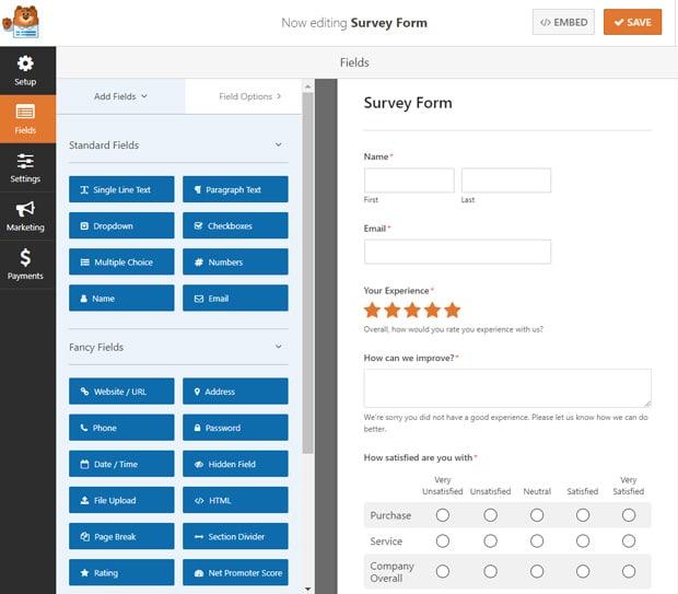 survey-format-wpforms
