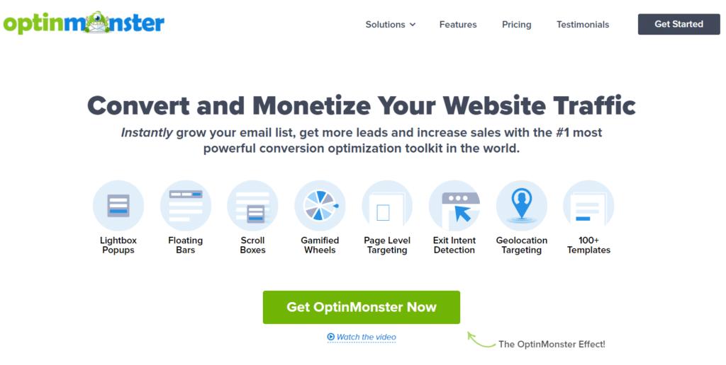 optinmonster best landing page builder wordpress