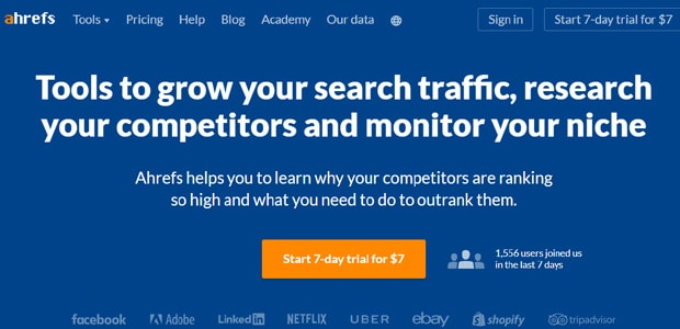 ahrefs-best-wordpress-seo-tool