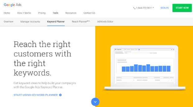 google-keyword-planner-best-seo-tools