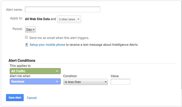 How to Create Custom Alerts in Google Analytics (Beginner's Guide)