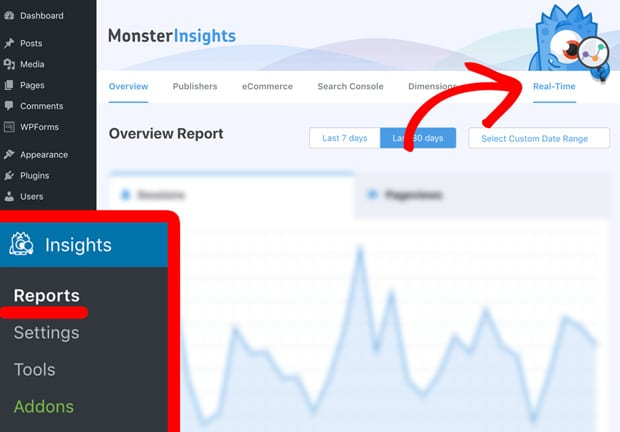 how-to-find-real-time-reports-in-monsterinsights