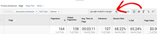 search-stats-for-one-page-ga