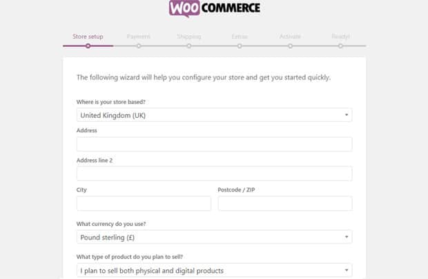 woocommerce-store-setup-options