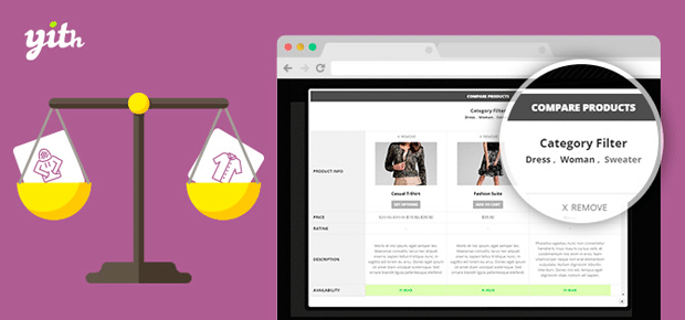 YITH WooCommerce Compare Pllugin