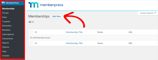 Add New Membership with MemberPress