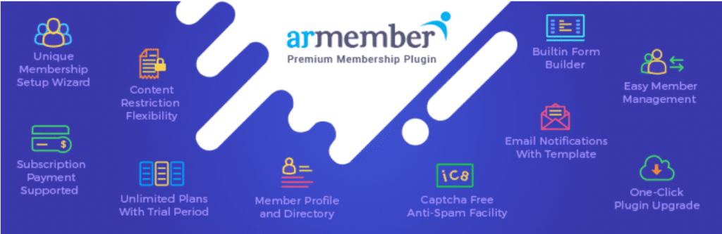ARmember-best-membership-plugin