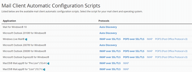 Bluehost Email Configuration Settings for Desktop Mail Clients