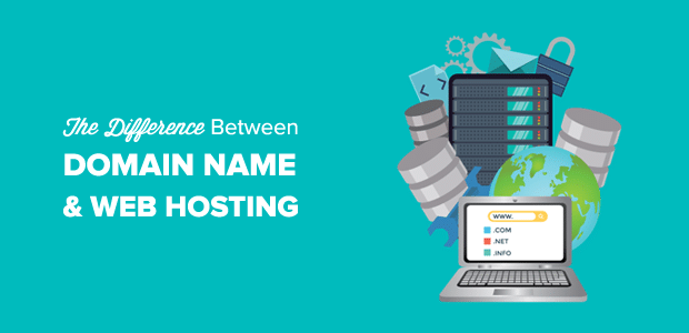 Domain Name vs. Web Hosting