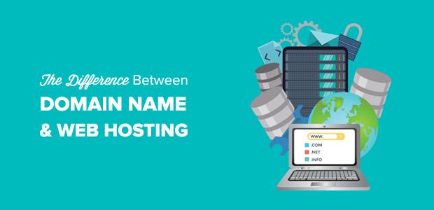 Domain Name vs. Web Hosting