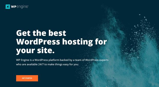 Hébergement WordPress géré par WP Engine