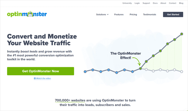 OptinMonster Best Popup and Lead Generation Tool
