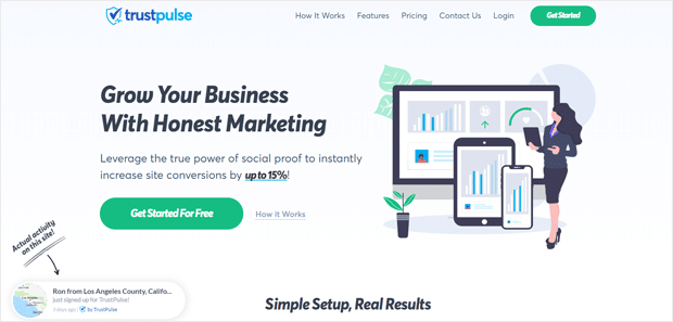TrustPulse Best Social Proof App for WordPress