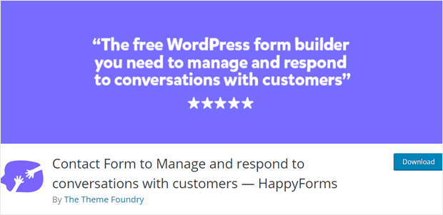 HappyForms WordPress Form Maker Plugin