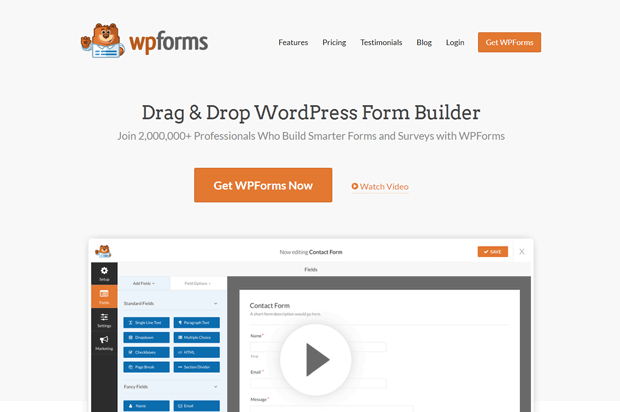 WPForms Best Form Builder Plugin for WordPress