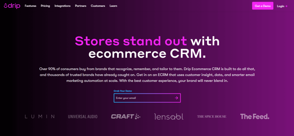 Drip-best-ecommerce-marketing-automation-tool