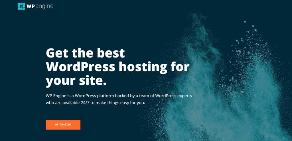 WPEngine-best-managed-hosting-option-to-build-website