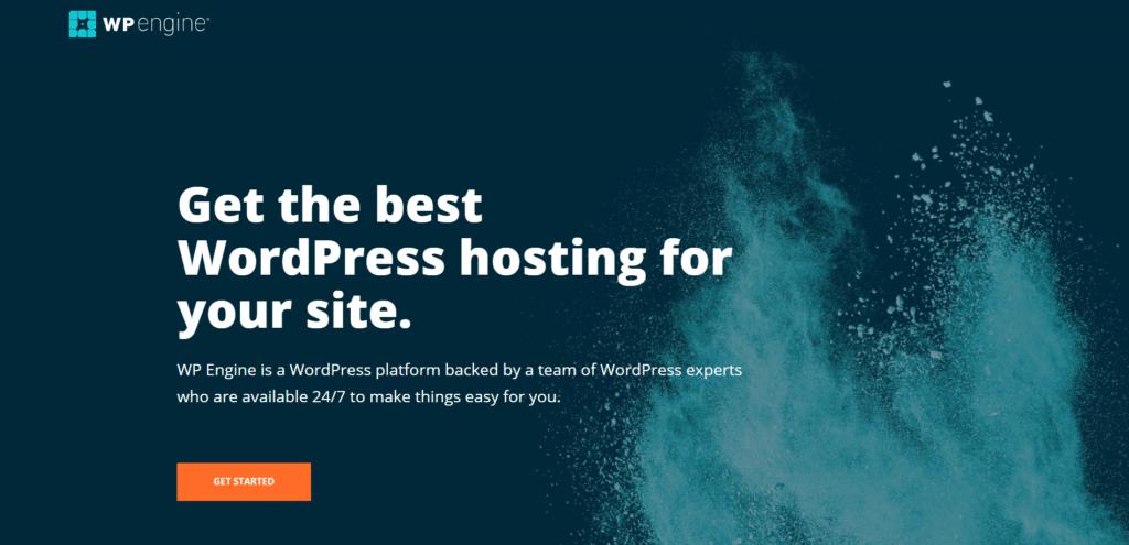 WPEngine-best-managed-hosting-option-to-build-website