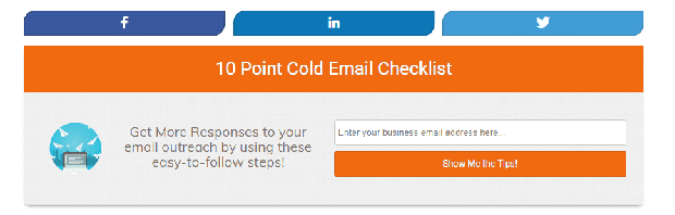 How to grow your email list using after Post Inline Optin Form Example Leadfuzz