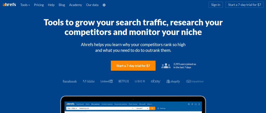 ahrefs best seo tool and alternative to gkp