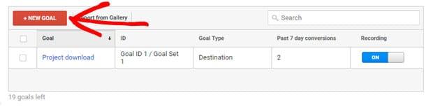 click-new-goal
