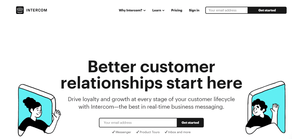 intercom-live-chat-software