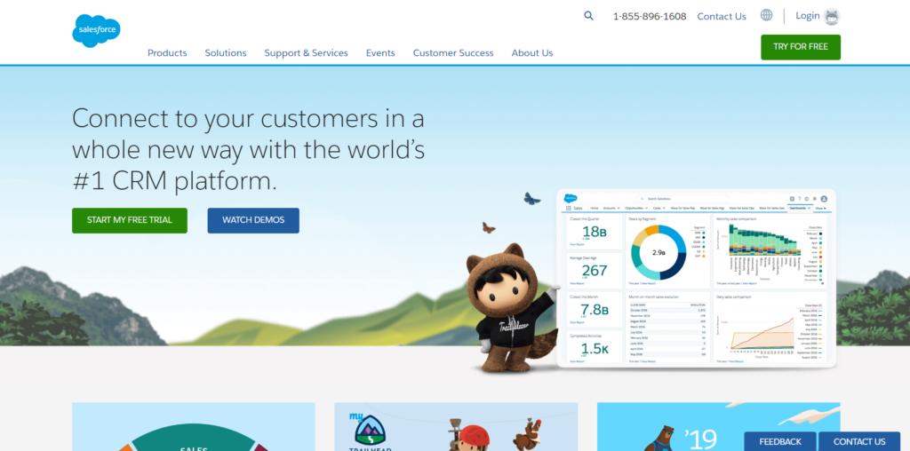 logiciel salesforce-marketing-automation-pour-petite-entreprise