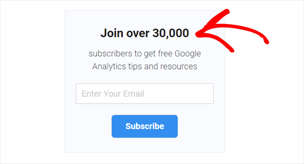 use Social Proof to Get More Email Subscribers