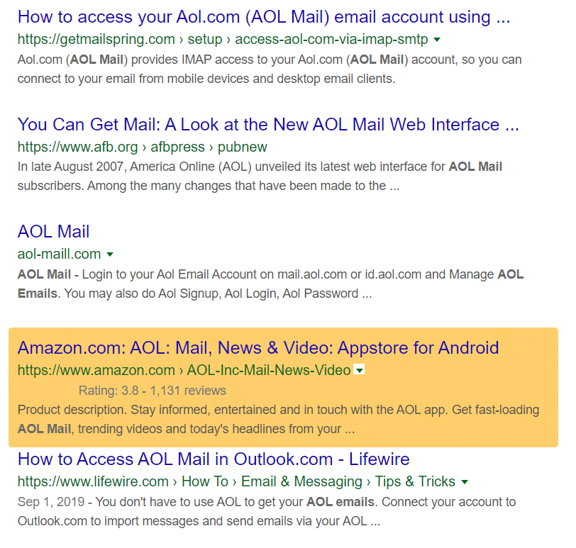 use serps to find search intent