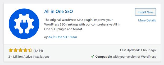 install all in one seo plugin