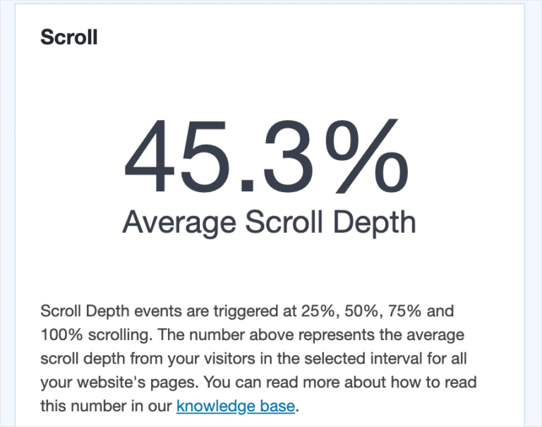 average-scroll-depth